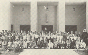 The first Student Body of Saint Agnes School.